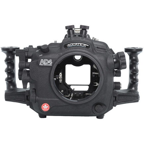 Aquatica AD4 Underwater Housing for Nikon D4 (Dual Nikonos Strobe Connectors)