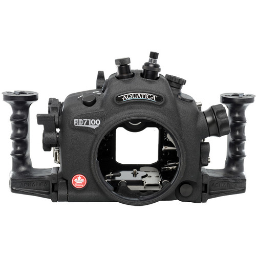 Aquatica AD7100/200 Underwater Housing for Nikon D7100 or D7200 (Optical and Nikonos Strobe Connectors)