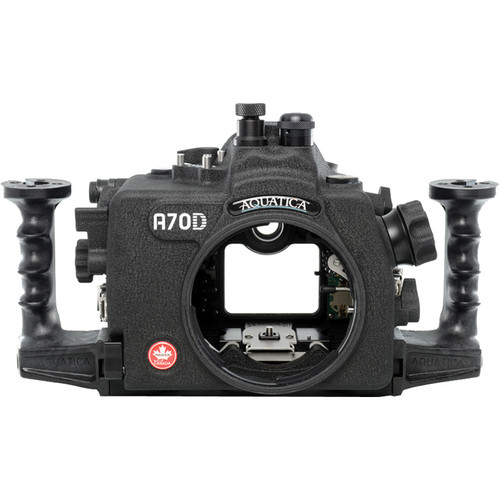 Aquatica A70D Underwater Housing for Canon EOS 70D (Optical and Nikonos Strobe Connectors)