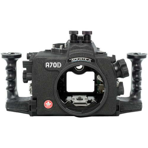 Aquatica A70D Underwater Housing for Canon EOS 70D (Dual Nikonos Strobe Connectors)