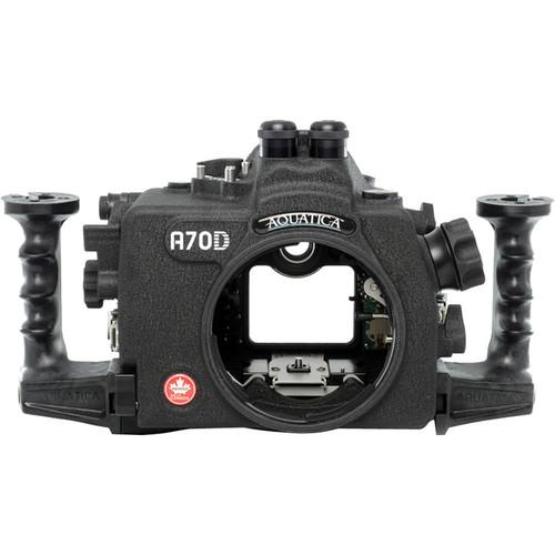Aquatica A70D Underwater Housing for Canon EOS 70D (Dual Fiber-Optic Strobe Connectors)