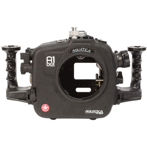 Aquatica A1Dcx Pro Underwater Housing for Canon EOS-1D C or 1D X (Ikelite Manual Strobe Connector)