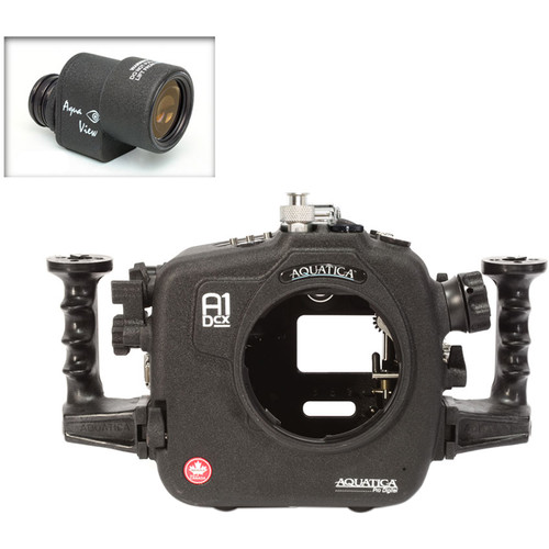 Aquatica A1Dcx Pro Underwater Housing for Canon EOS-1D C or 1D X with Aqua VF (Ikelite Manual Strobe Connector)