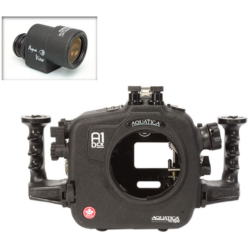 Aquatica A1Dcx Pro Underwater Housing for Canon EOS-1D C or 1D X with Aqua VF (Dual Nikonos Strobe Connectors)