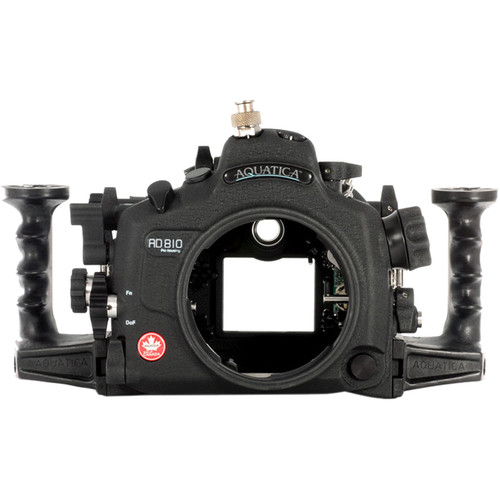 Aquatica AD810 Pro Underwater Housing for Nikon D810 (Ikelite TTL/Manual Strobe Connector)