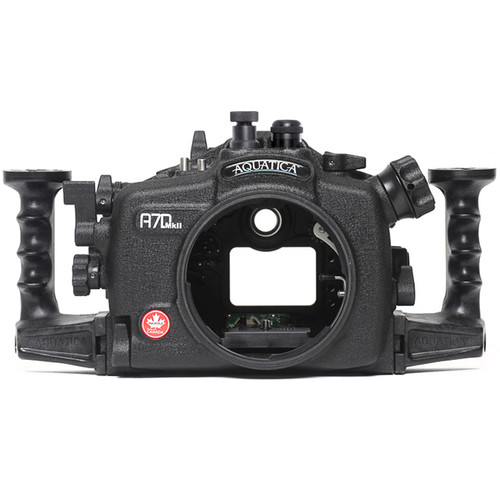 Aquatica A7D Mk II Underwater Housing for Canon 7D Mark II (Fiber-Optic & Nikonos Strobe Connectors)