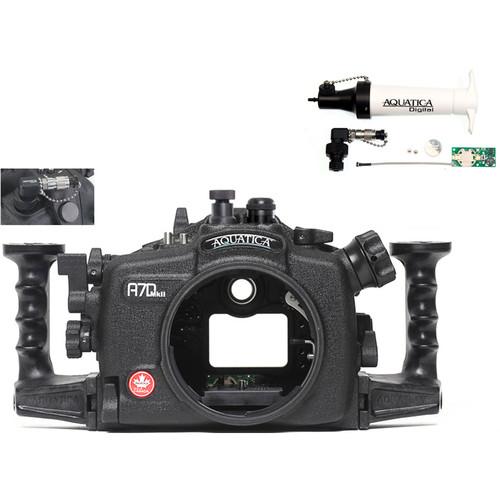 Aquatica A7D Mk II Underwater Housing for Canon 7D Mark II with Vacuum Check System (Fiber-Optic & Nikonos Strobe Connectors)