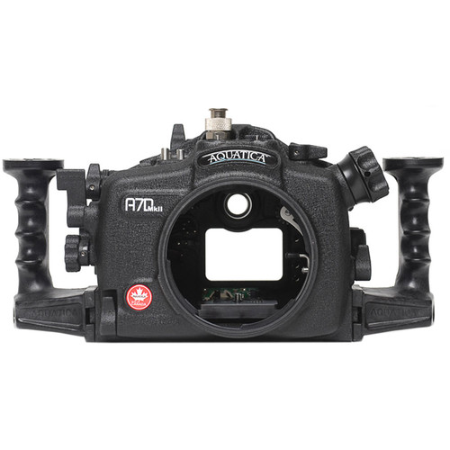 Aquatica A7D Mk II Underwater Housing for Canon 7D Mark II (Ikelite Manual Strobe Connector)