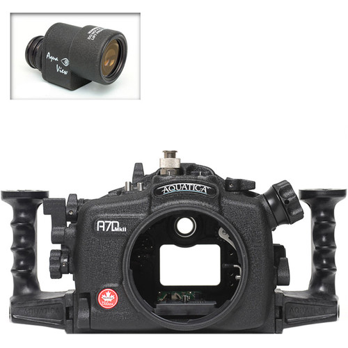 Aquatica A7D Mk II Underwater Housing for Canon 7D Mark II with Aqua VF (Ikelite Manual Strobe Connector)