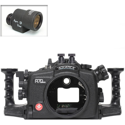 Aquatica A7D Mk II Underwater Housing for Canon 7D Mark II with Aqua VF (Dual Nikonos Strobe Connectors)