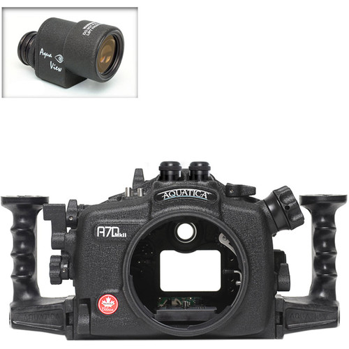 Aquatica A7D Mk II Underwater Housing for Canon 7D Mark II with Aqua VF (Dual Fiber-Optic Strobe Connectors)