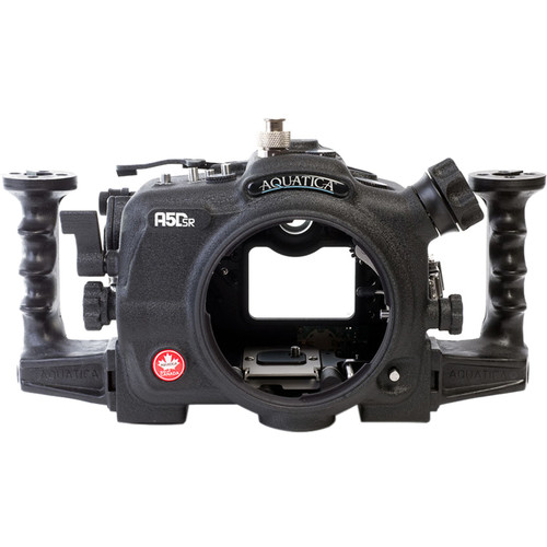 Aquatica A5DSR Pro Underwater Housing for Canon 5Ds, 5Dsr, or 5D Mk III ( Ikelite TTL/Manual Strobe Connector)