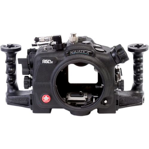 Aquatica A5DSR Pro Underwater Housing for Canon 5Ds, 5Dsr, or 5D Mk III and Vacuum Check System ( Ikelite TTL Connector)