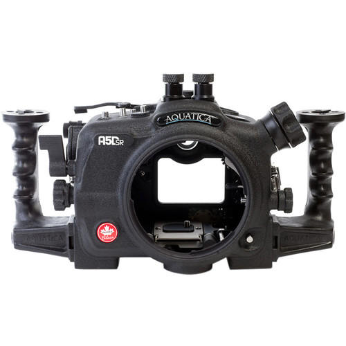 Aquatica A5DSR Pro Underwater Housing for Canon 5Ds, 5Dsr, or 5D Mk III (Dual Nikonos Strobe Connectors)