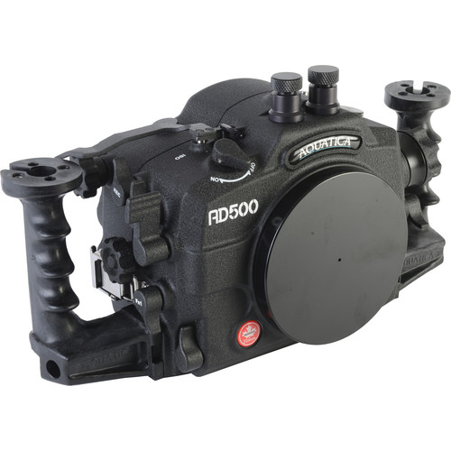 Aquatica AD500 Underwater Housing for Nikon D500 with Aqua VF and Vacuum Check System (Dual Nikonos Strobe Connectors)