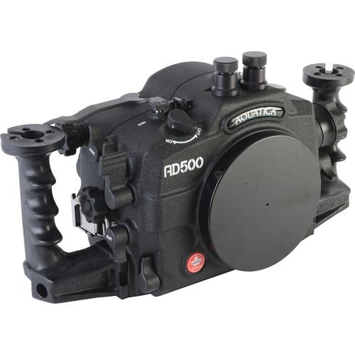 Aquatica AD500 Underwater Housing for Nikon D500 with Vacuum Check System (Dual Fiber-Optic Strobe Connectors)
