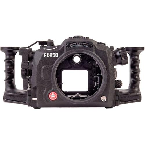 Aquatica AD850 Pro Underwater Housing for Nikon D850 with Surveyor Vacuum Kit (Ikelite Strobe Connector)