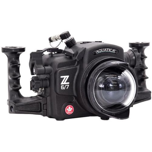 Aquatica AZ6/7 Underwater Housing for Nikon Z 6 & Z 7 Mirrorless Digital Camera (Dual Fiber-Optic Strobe Connectors)