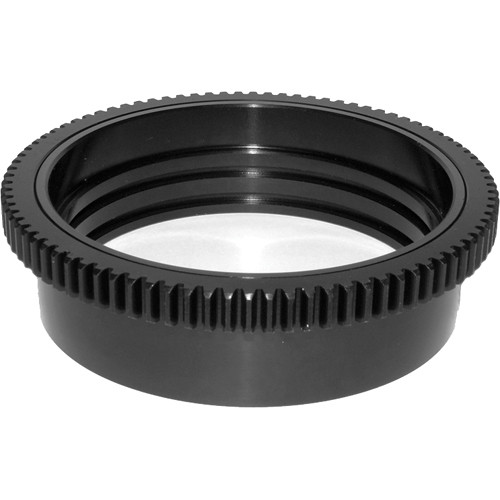 Aquatica 48728 Zoom Gear for Nikon 16-35mm f/4G ED VR in Lens Port on Underwater Housing