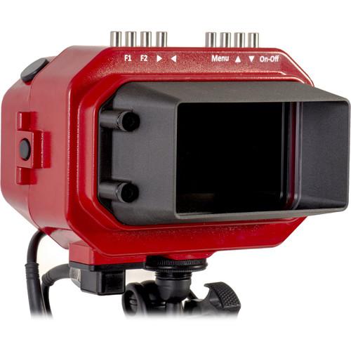 "Aquatica 5HD Underwater Monitor (1/2"" Bulkhead, HDMI Type D, Red)"