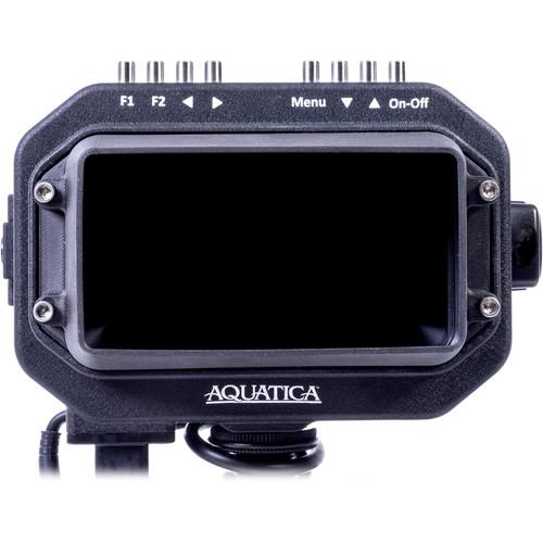 "Aquatica 5HD Underwater Monitor (1/2"" Bulkhead, HDMI Type C, Black)"