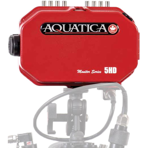 Aquatica 5HD Underwater Monitor (23.75mm Bulkhead, HDMI Type C, Red)