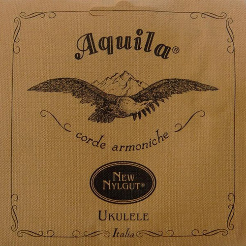 Aquila 17U Mixed New Nylgut and Red Series 6-String Set for Tenor Ukulele (Red Series Low-A)