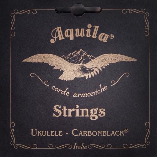 Aquila 143U High G Tenor Uke String Set - GCEA Tune /Carbon Black