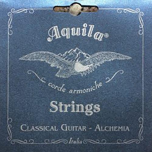 Aquila 146C High Tension Guitar String Set - EADGBE Tune,Alchemia Silver Copper Basses, Sugar Trebles