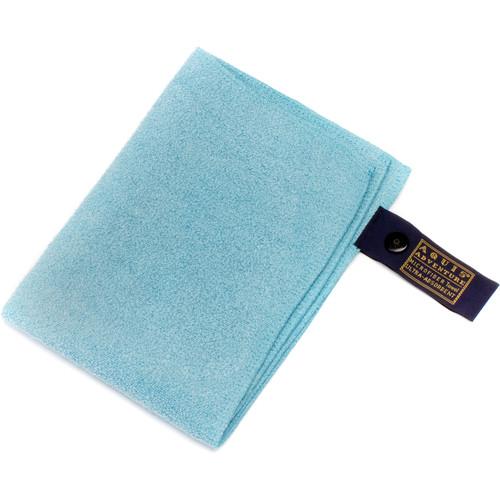 """AQUIS Microfiber Towel (Green, 10 x 14"""")"""