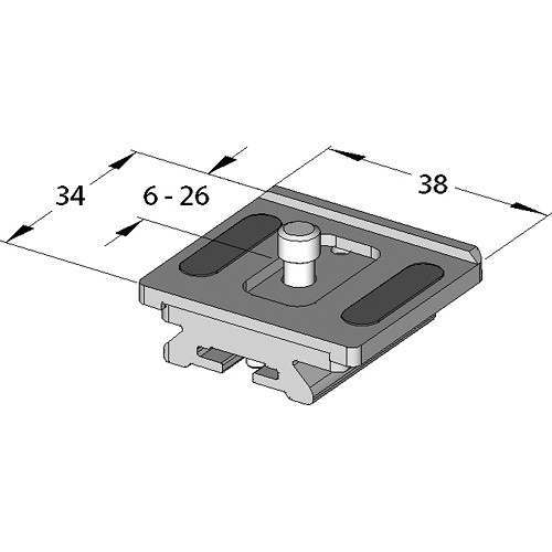 Arca-Swiss Cameraplate for Compact Variokit