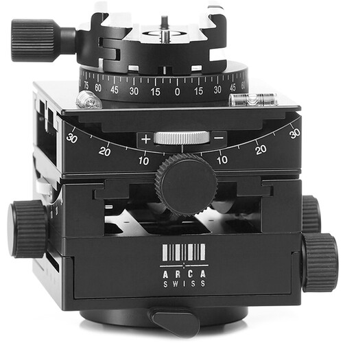 Arca-Swiss C1 Cube Geared Head with Arca Classic Quick Release and Leather Case