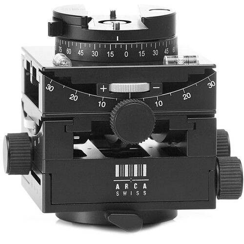 Arca-Swiss C1 Cube Geared Head with MonoballFix Quick Release and Leather Case