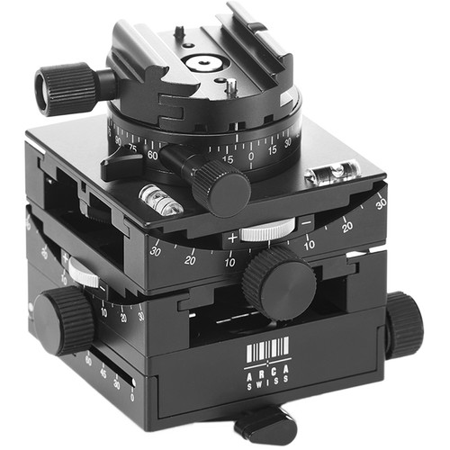 Arca-Swiss C1 Cube Geared Head with Arca Classic Quick Release with GP (Geared Panning)