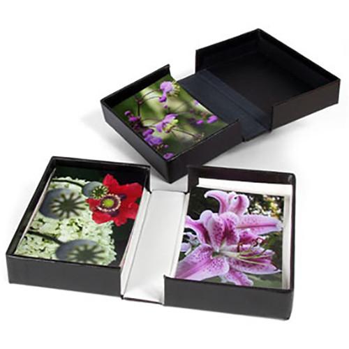 "Archival Methods Onyx Portfolio Box (11 x 14 x 1.4"", Black Buckram with Black Interior)"