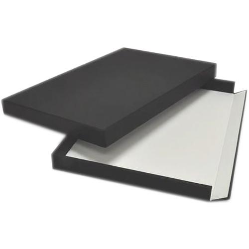 "Archival Methods Museum Drop Front Box (17.5 x 22.5 x 1.5"", Black)"