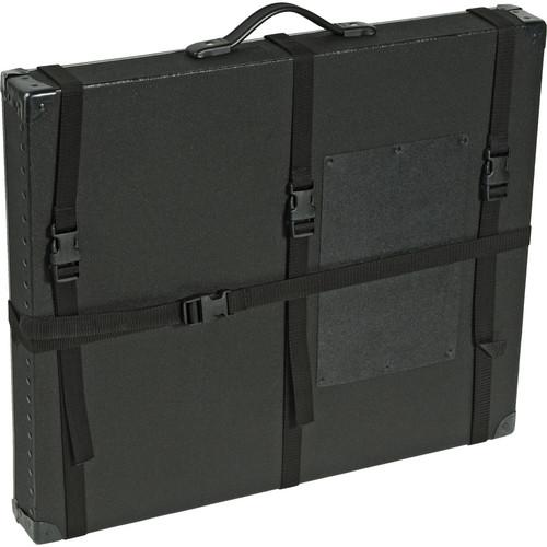 "Archival Methods 17 x 22 x 3"" Trans-Port Shipping Case (Black)"