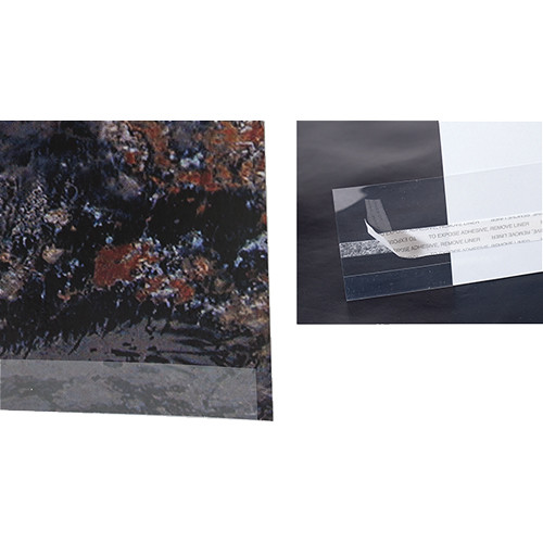 """Archival Methods Clear Print Mount Strips - 10"""" (25-Pack)"""