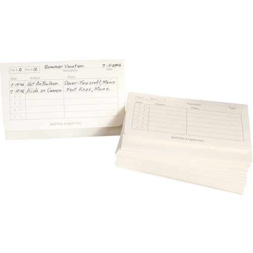 "Archival Methods Archive Envelopes (4 x 6"", 25-Pack, Cream)"