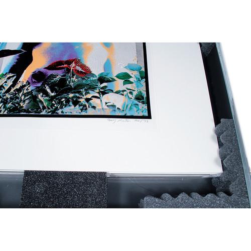 """Archival Methods Ridged Foam Blocks for Art Carry Case - 6.0 x 3.0 x 1.5"""" (4-Pack)"""