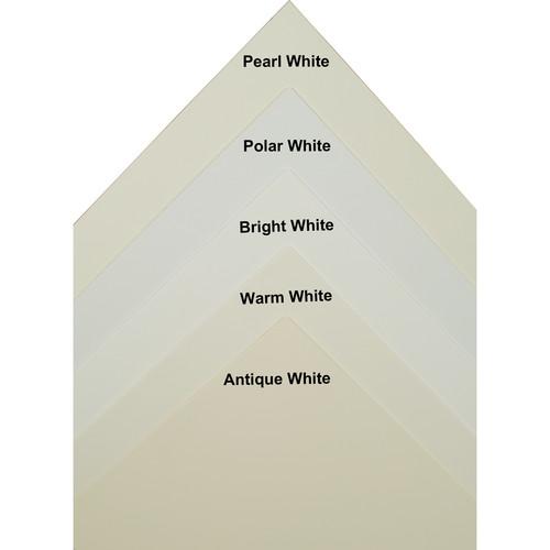 "Archival Methods 2-Ply Bright White 100% Cotton Museum Board (17 x 22"", 25 Boards)"