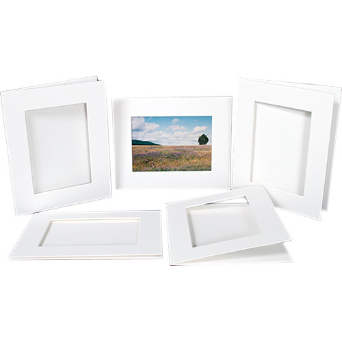 """Archival Methods Bulk Pre Cut Mats (22 x 30"""" Mat for 17 x 25"""" Prints, 15 Mats)"""