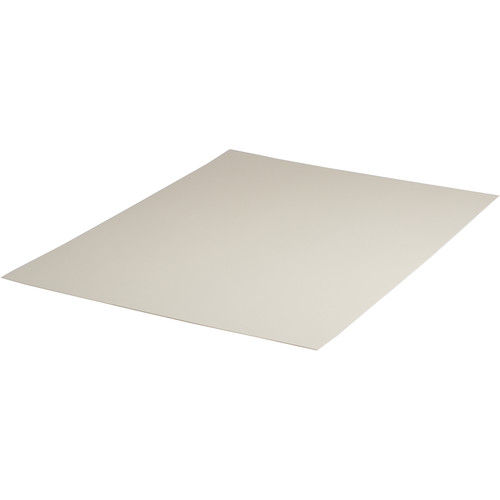 """Archival Methods 2-Ply Pearl White Conservation Mat Board (17 x 22"""", 25 Boards)"""