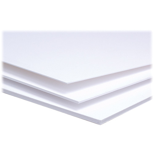 """Archival Methods 4-Ply Pearl White Conservation Mat Board (17 x 22"""", 15 Boards)"""