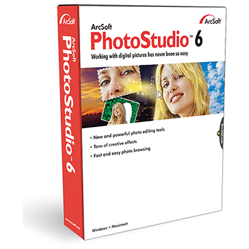 ArcSoft PhotoStudio 6 for Windows (Electronic Download)