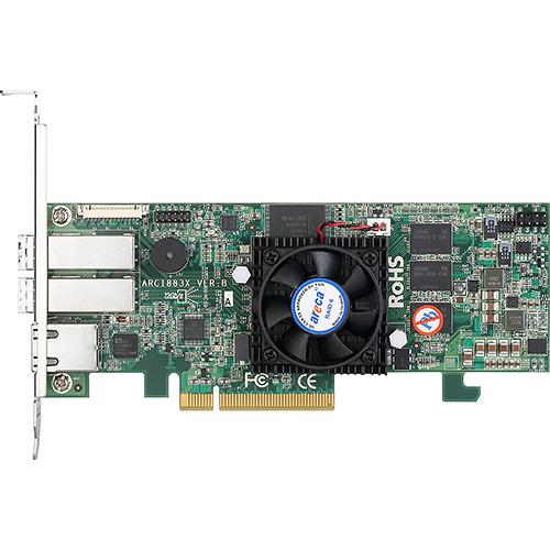Areca ARC-1883X 8-Port 12 Gb/s SAS/SATA RAID Adapter