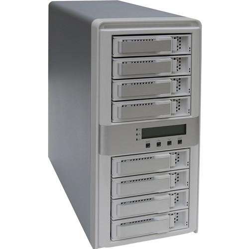 Areca 8-Bay eSATA USB 2.0/3.0 FireWire 800/iSCSI/AoE RAID Enclosure