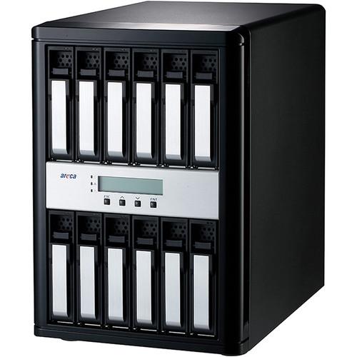 Areca 12-Bay 12 Gb/s SAS to SAS Desktop RAID Subsystem