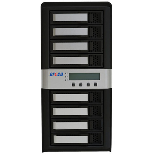 Areca ARC-8050T2 32TB (8 x 4TB) 8-Bay Thunderbolt 2 RAID Enclosure