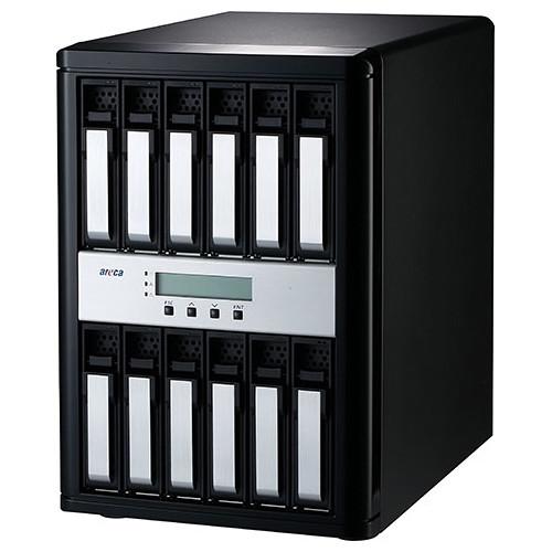 Areca ARC-8050T3-12-120TB 120TB 12-Bay Thunderbolt 3 RAID Array (12 x 10TB Drives)